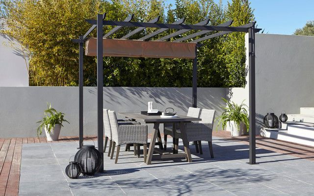 outdoor free grey standing freestanding patio awnings living ca aosom outsunny awning