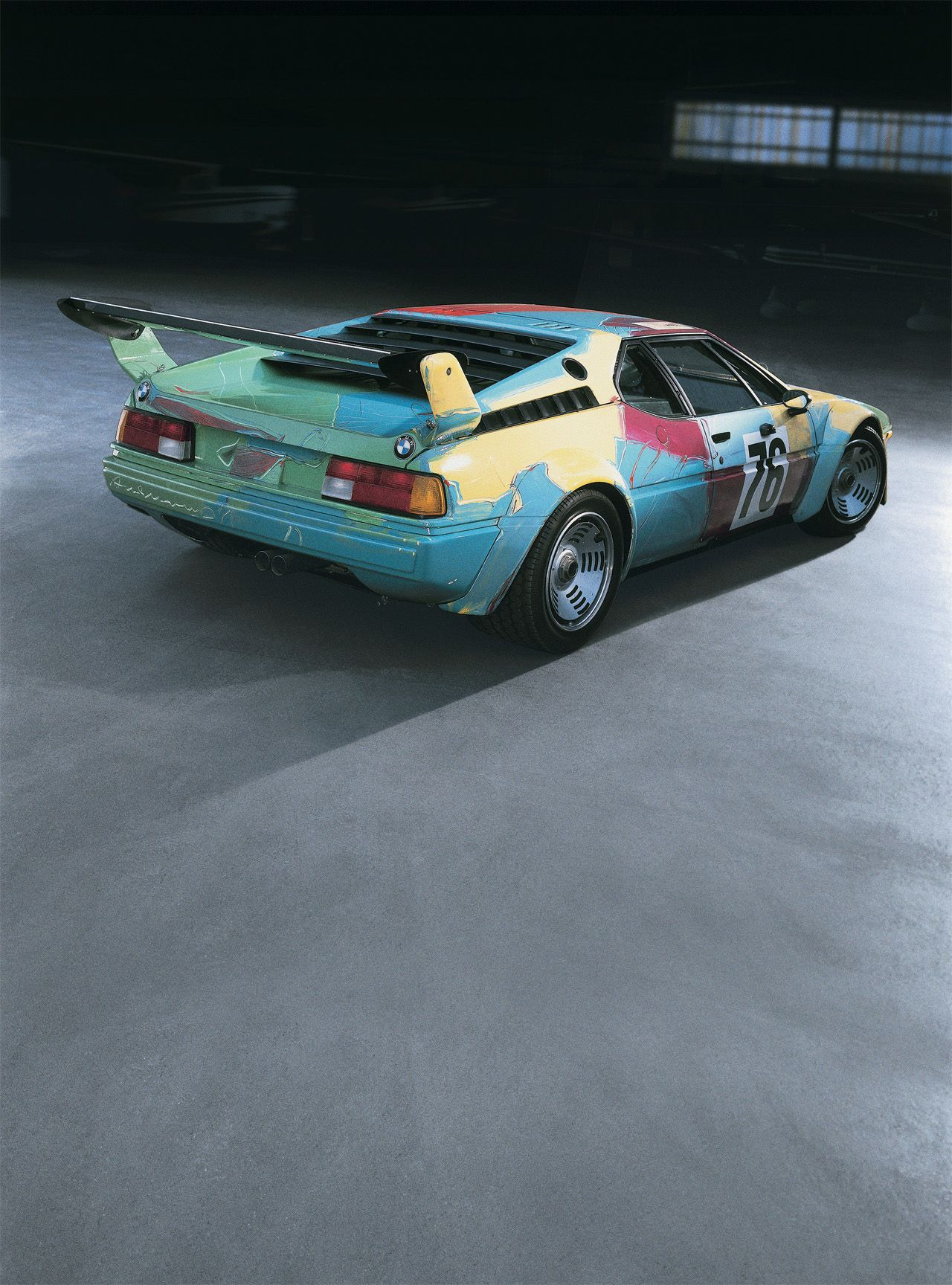 BMW M1 - Andy Warhol's art car #petrolified