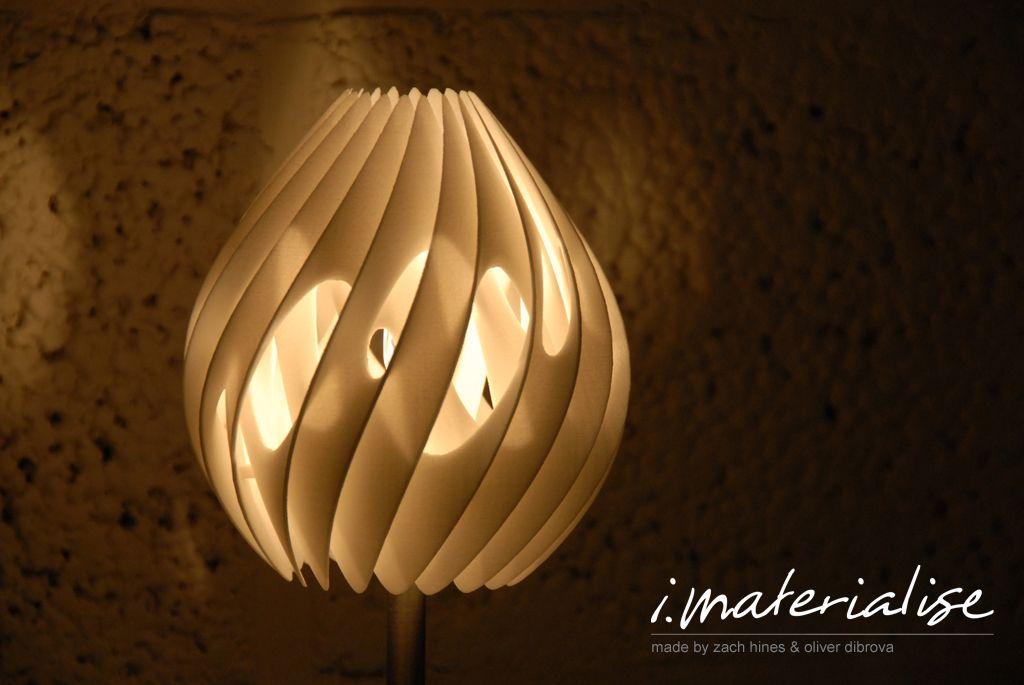 Design Your Own 3d Printed Table Lamp Lampen Lampentisch Und Dekorative Lampen