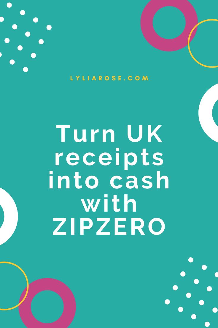 ZIPZERO app review snap receipts to save money on