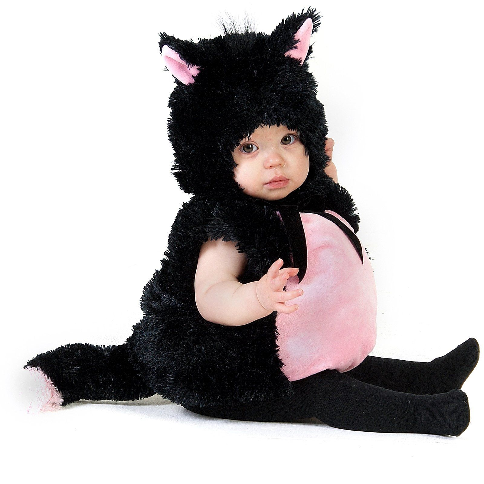 Little Kitty Infant Toddler Costume Toddler Halloween Toddler Cat Costume Kitten Costumes