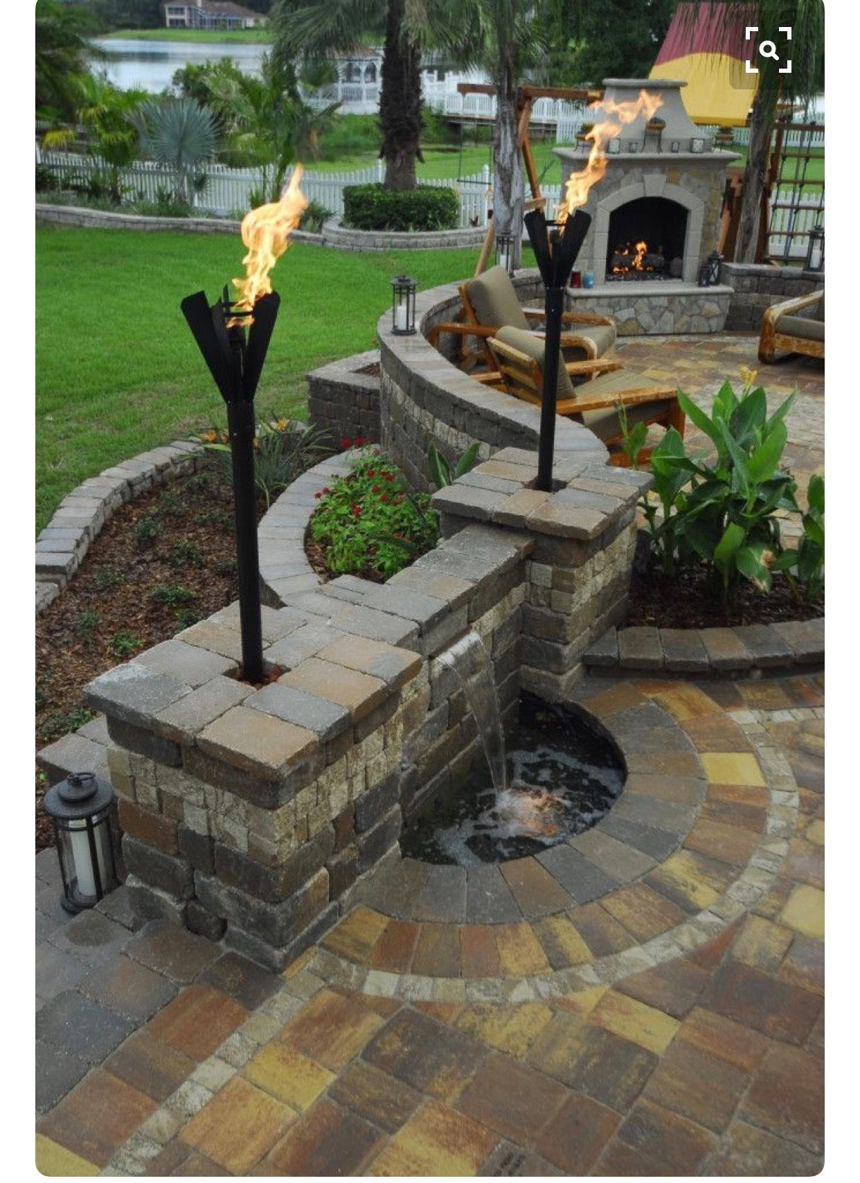 Patio wall ideas - Backyard Patio Wall Great Pin For Oahu Architectural Design Visit Http