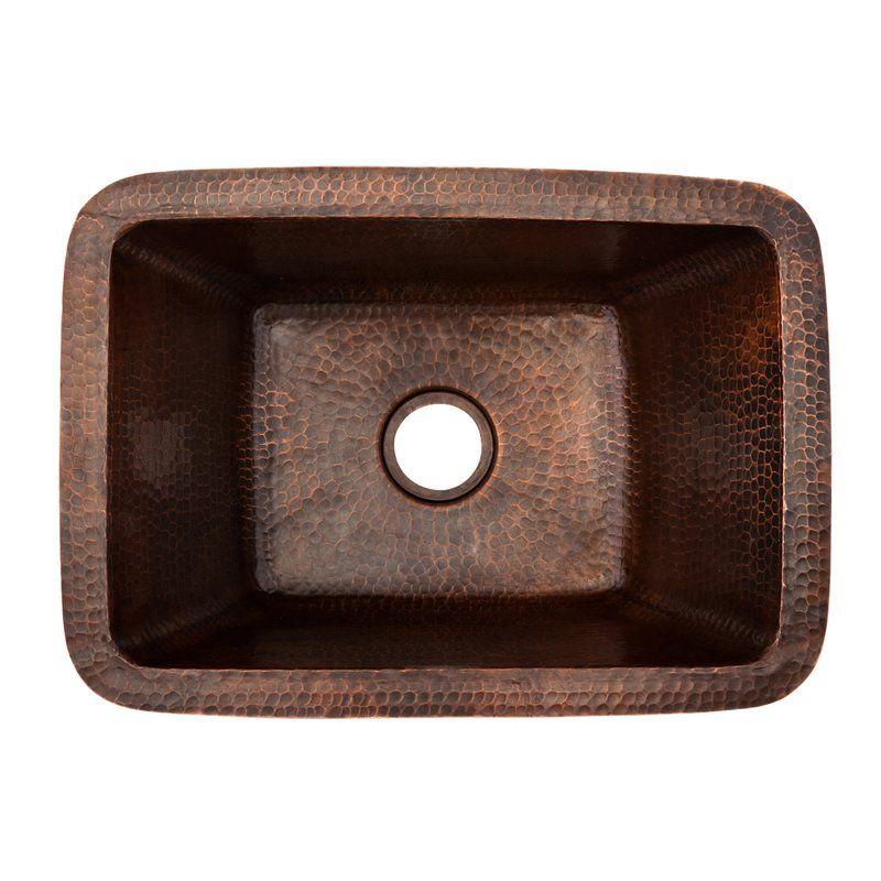 17 X 12 Rectangle Copper Bar Sink Reviews Allmodern