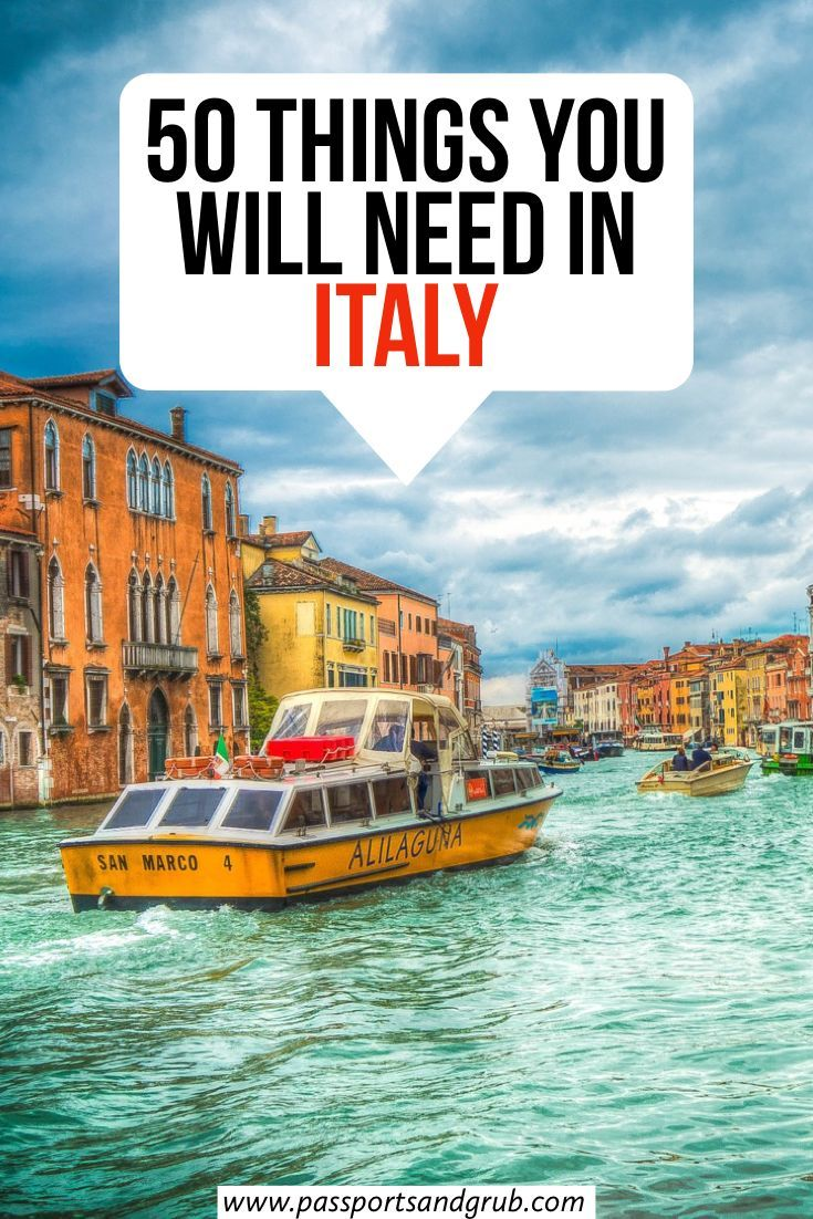 Photo of Italy Packing List: 50 Packing Essentails For Italy – [Updated For 2020]