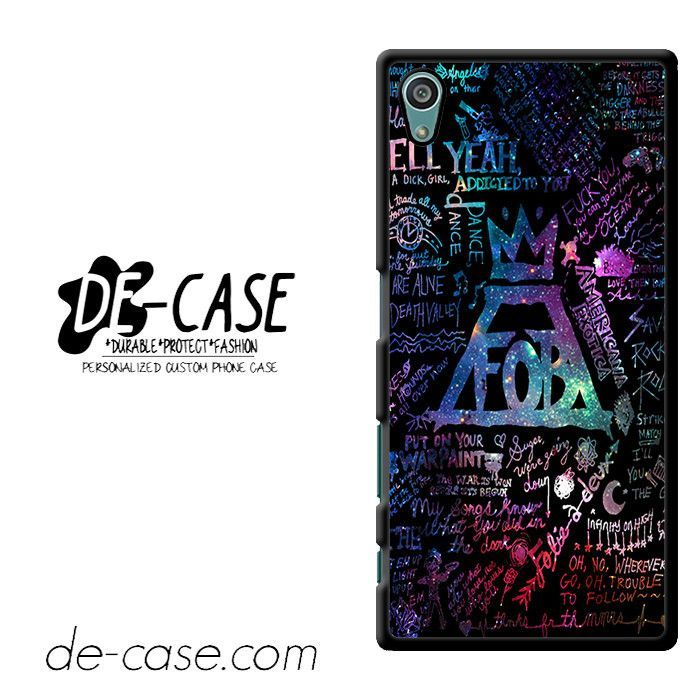 Fall Out Boy Rock Band Fob Galaxy Fall Out Boy DEAL-4063 Sony Phonecase Cover For Xperia Z5