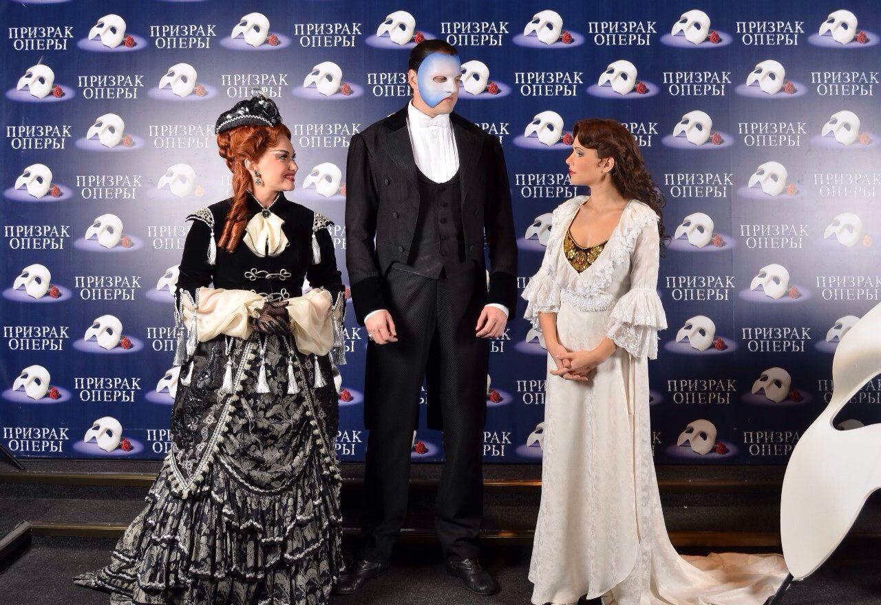 Operafantomet: phantoming, luinaluna:   Photos by Stage Entertainment
