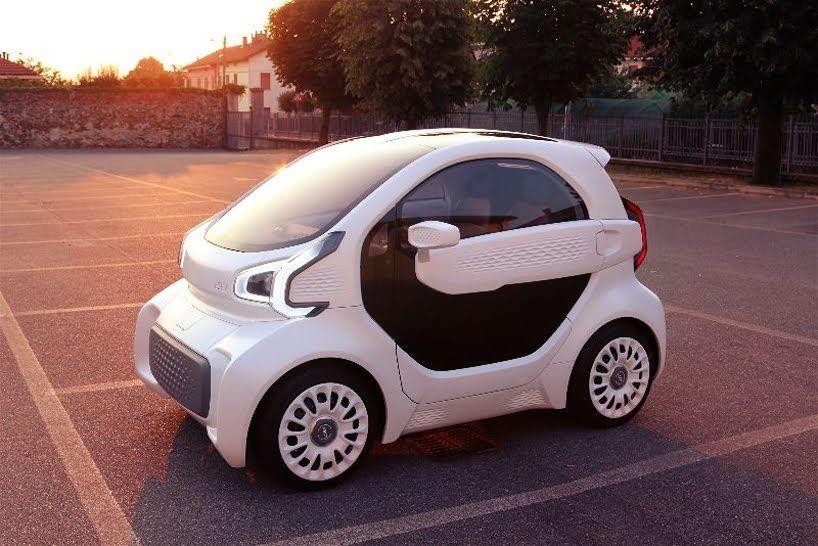 Fractal Ea Magazine Este Pequeño Vehículo Impreso En 3d Cuenta Con 57 Piezas Coche Eléctrico Coche Inteligente Auto Electrico