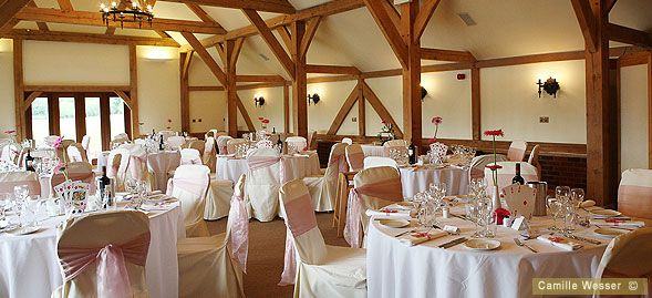 The Oak Barn At Sandhole Wedding Venue In Cheshire