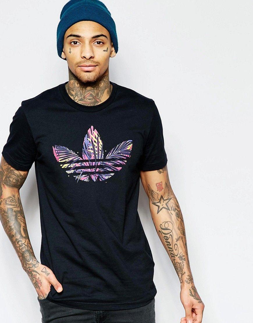 Fede adidas Originals T Shirt With Jungle Trefoil AJ7119