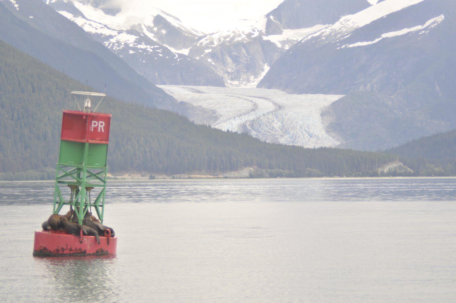 Michal & Family in North America: אלסקה - החצי השני של ההפלגה