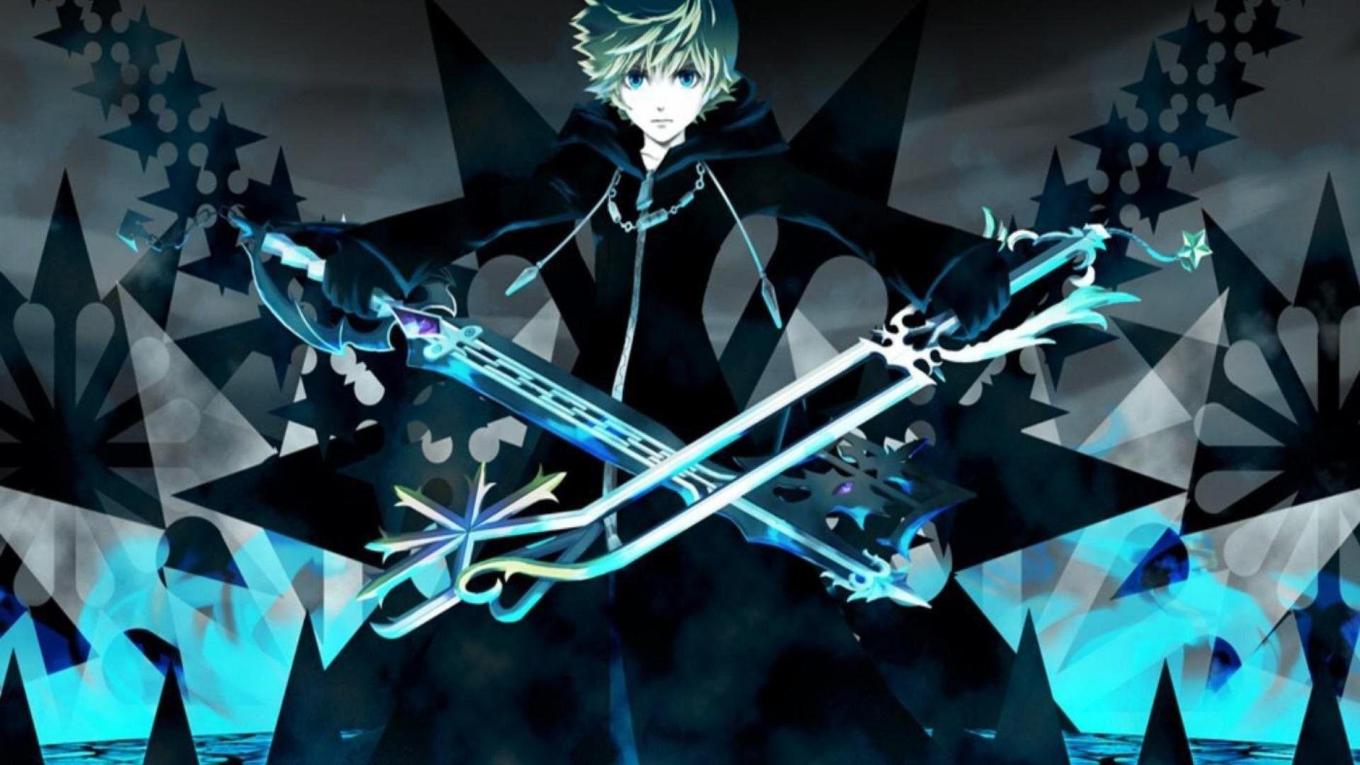 Kingdom Hearts Roxas Wallpaper High Resolution kingdom