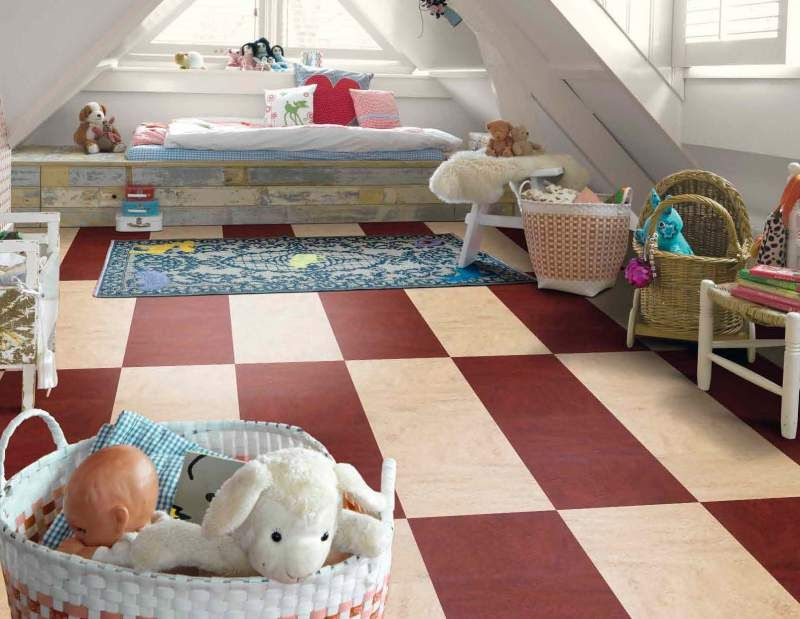 Green Machine Marmoleum Floors Marmoleum Kids Room Interior Design