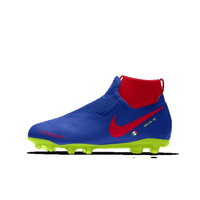 Calzado de fútbol para múltiples superficies para niños talla grande Nike  Phantom Vision Academy Jr. MG iD 2d32e62a9365d