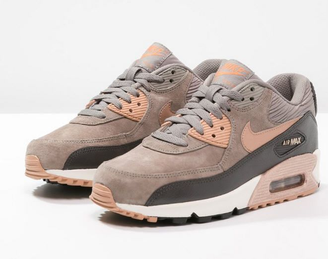new womens nike air max 90 iron red bronze storm