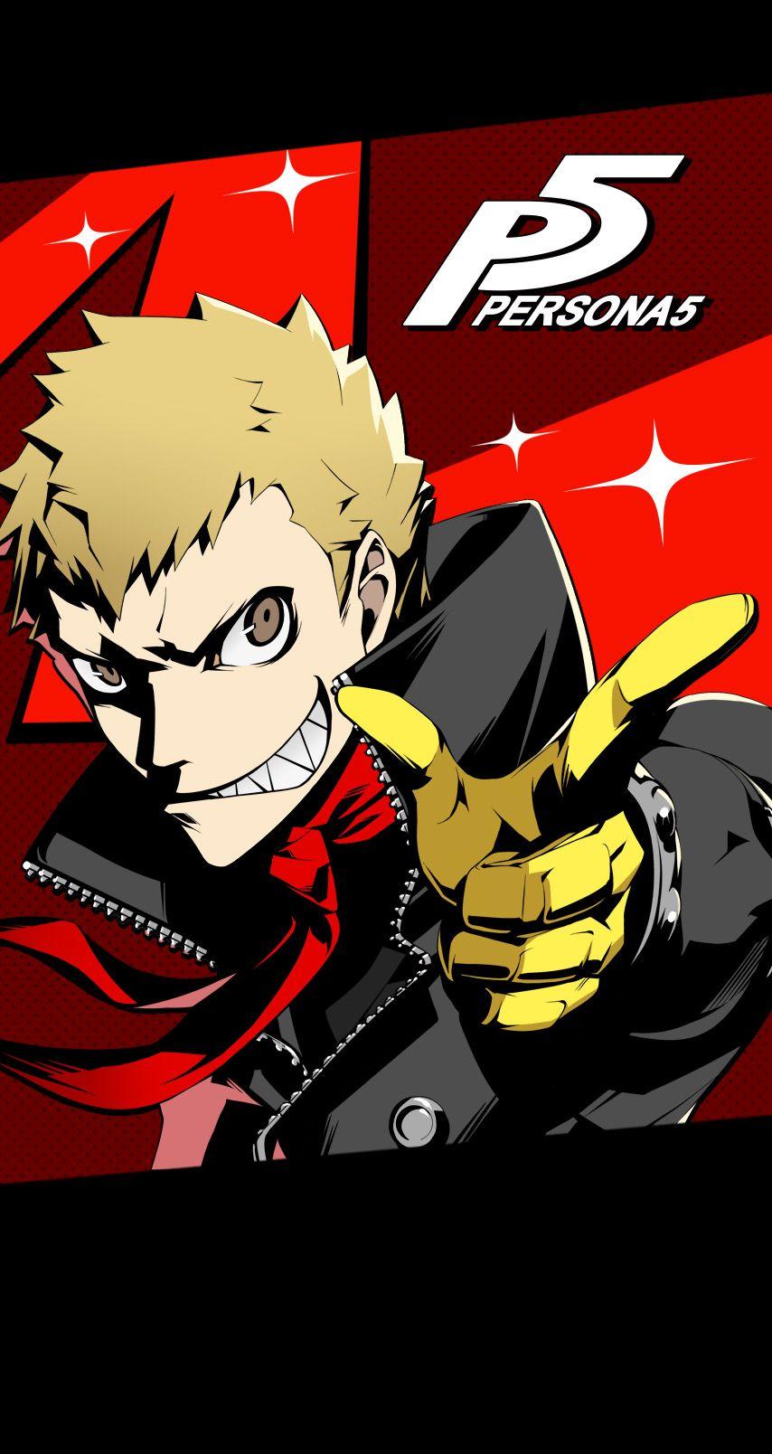 Persona 5 Ryuji Sakamoto Persona 5 Persona 5 Joker Persona