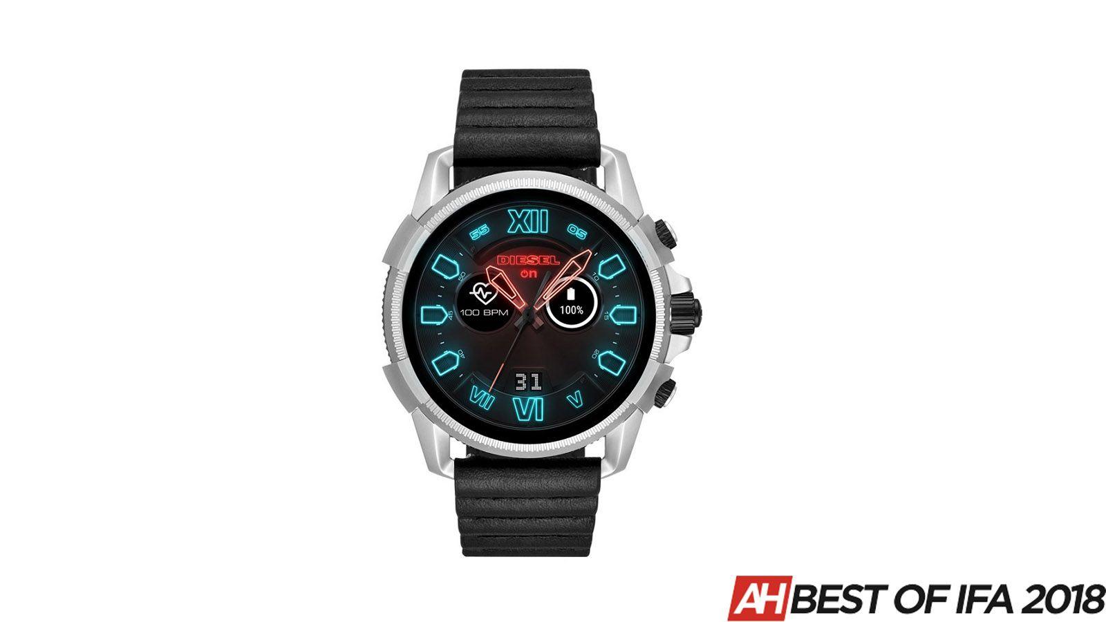 Best Of Ifa 2018 Diesel Full Guard 2 5 Wear Os Smartwatch Smart Watch Diesel Best