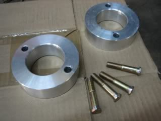 Aluminum Honda Crv Lift Kit Custom Machined Strut Spring Spacers Make The Rings 4 1 4 Outside Diameter 4 1 2 Was A Bit Big Inside Hole Make It 2 1 4