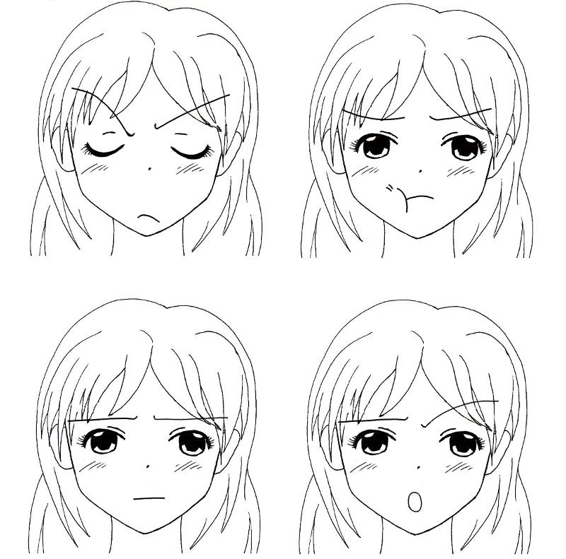 Le Depit Tutoriel Manga Dessin Manga Apprendre A Dessiner Manga