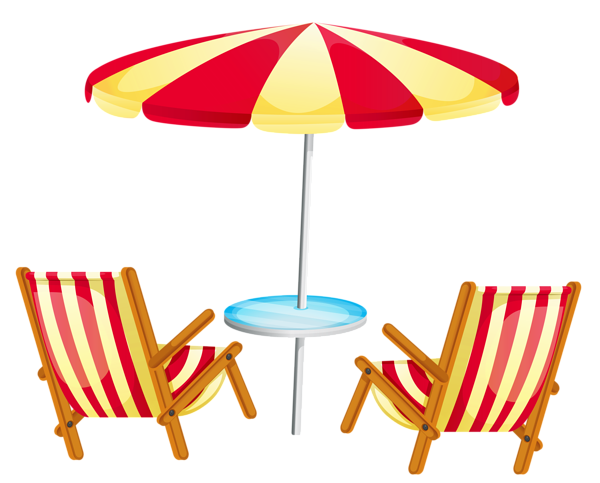 Transparent Beach Umbrella With Chairs Png Clipart Beach Chair Umbrella Retro Dining Chairs Vintage Dining Chairs