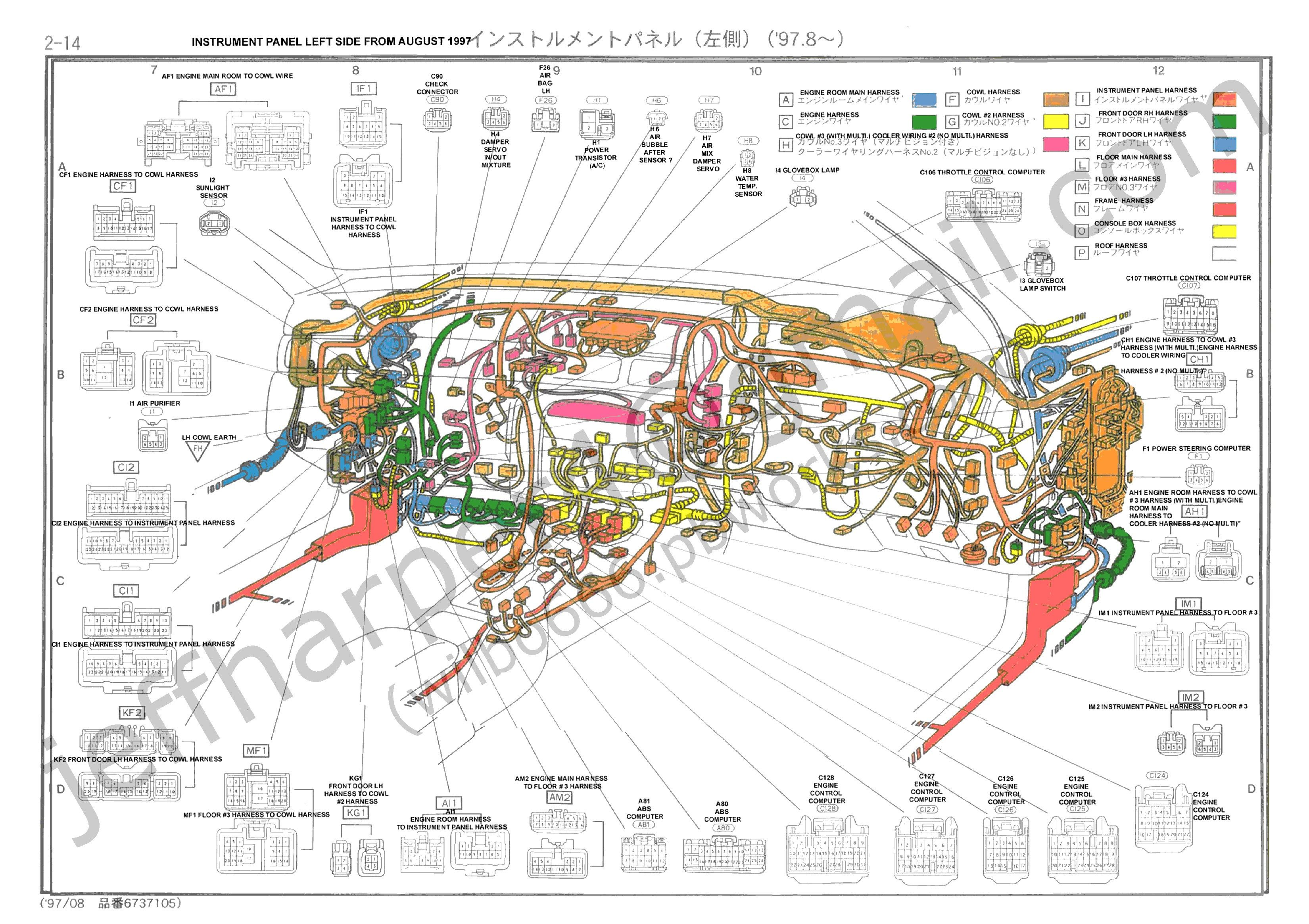 Toyota Wiring Diagram Color Codes Inspirational toyota Starter Wiring  Diagrams Color Code for Car Wiring Diagram Download Moodswings