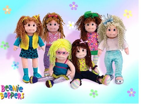 583d30dcc96 ty teenie beanie boppers. these dolls were so cute and fun! i had the one  seated on the right.