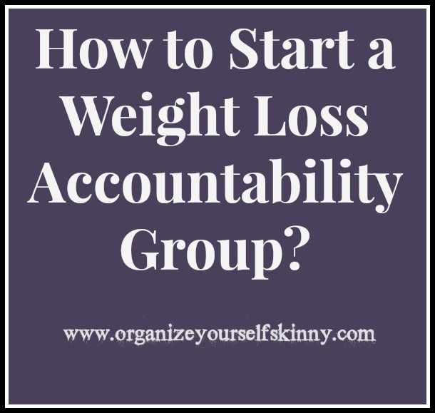 weight loss challenge group