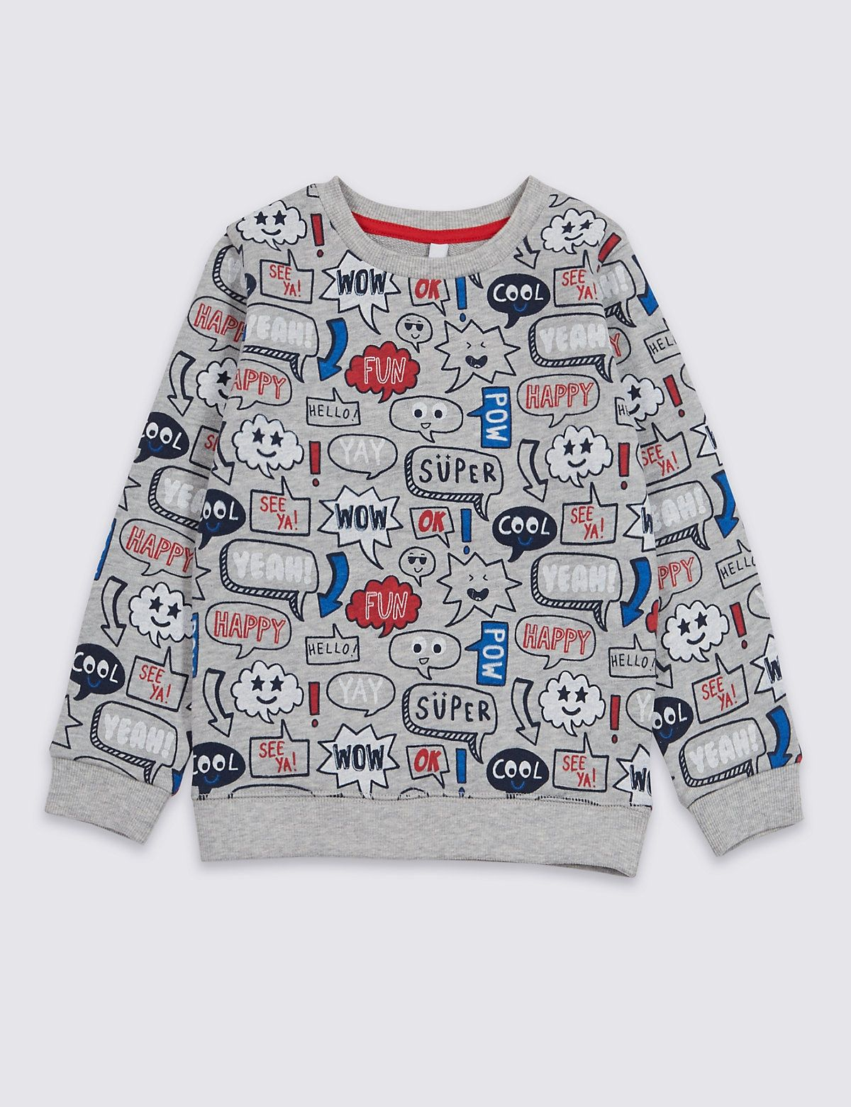 M/&S KIDS Baby Girl Long Sleeve Pure Cotton All Over Print Bear Top T-Shirt NEW !