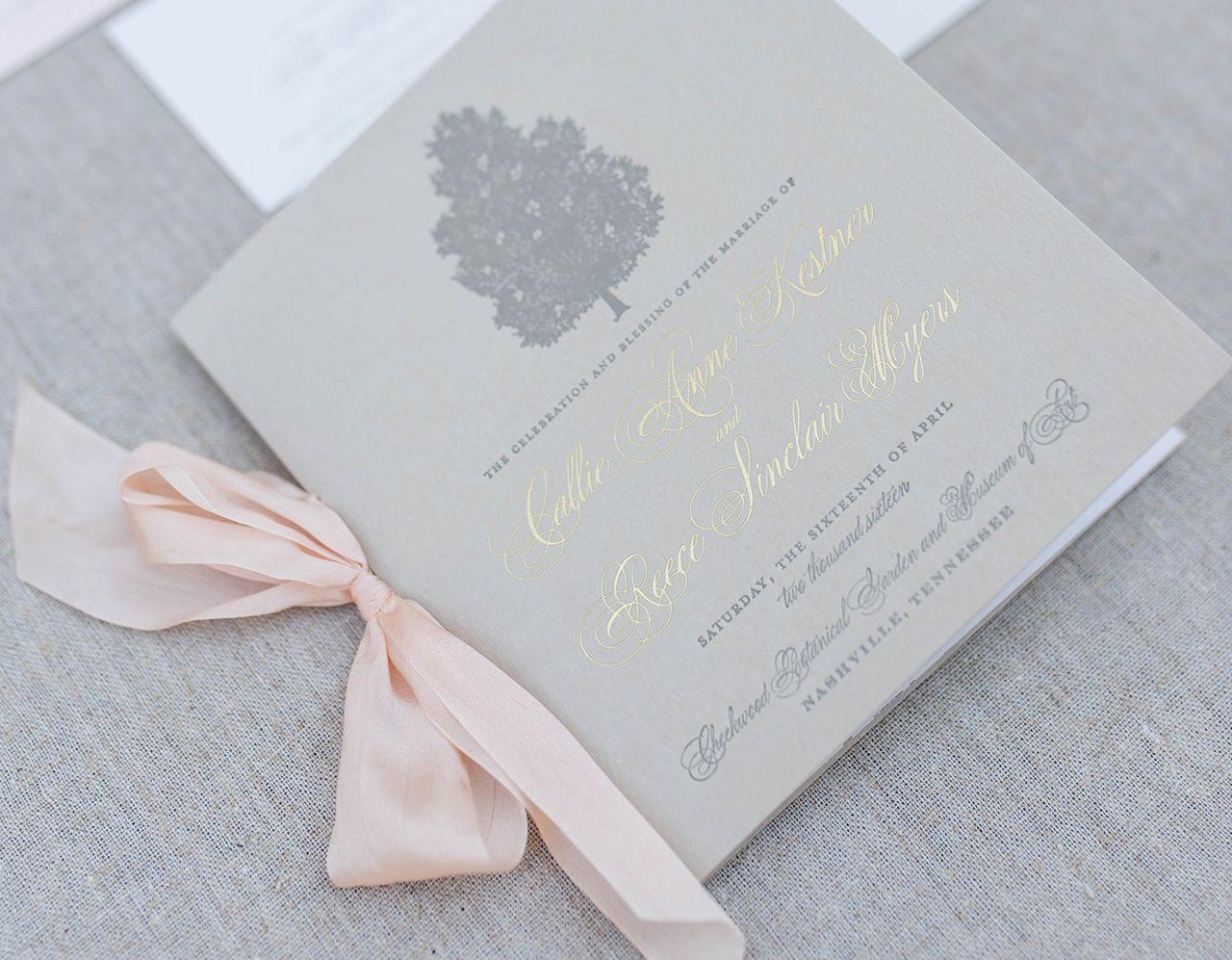 Timeless Southern Magnolia Wedding Invitations by Tenn Hens Design ...