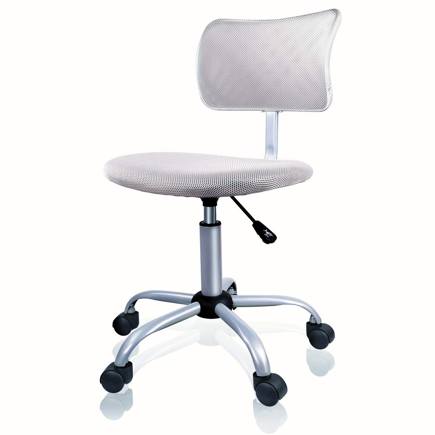 Armless Office Chair Low Back Computer Task Office Desk Chair With Swivel Casters For Home Office Conference Leaden Gr Luxury Office Chairs Chair Office Chair