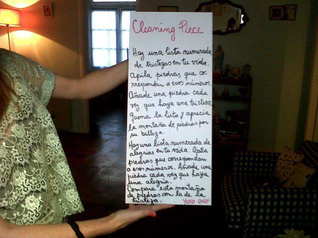 Twitter / mariacelestecid: #CleaningPiece .pedido de ...