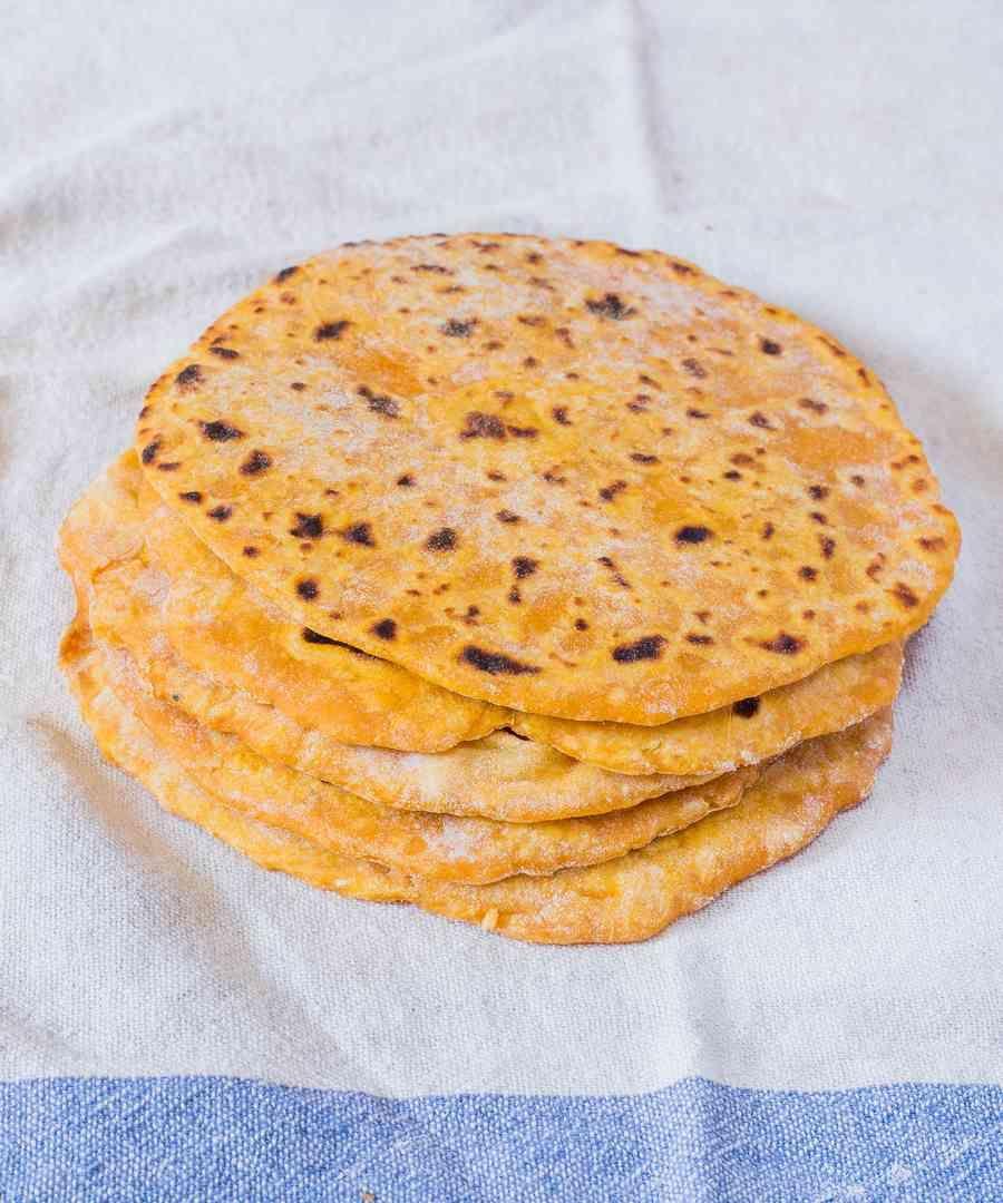 Vegan Sweet Potato Tortillas 2 Ingredients Oil Free