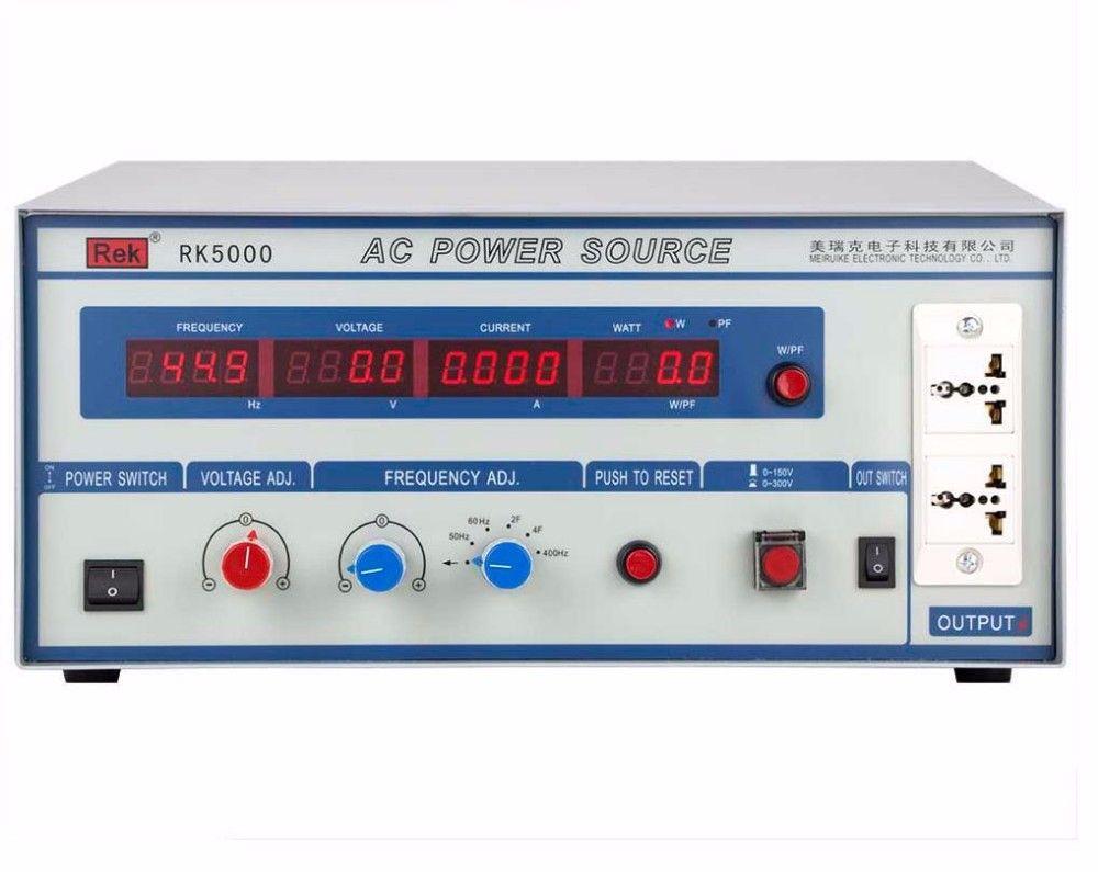 Rek Rk5002 Ac Variable Frequency Power Supply 3000va Kw W 110v 60hz Single Phase Inverter Power Supply Frequency Power Power Source Ac Power Power Supply