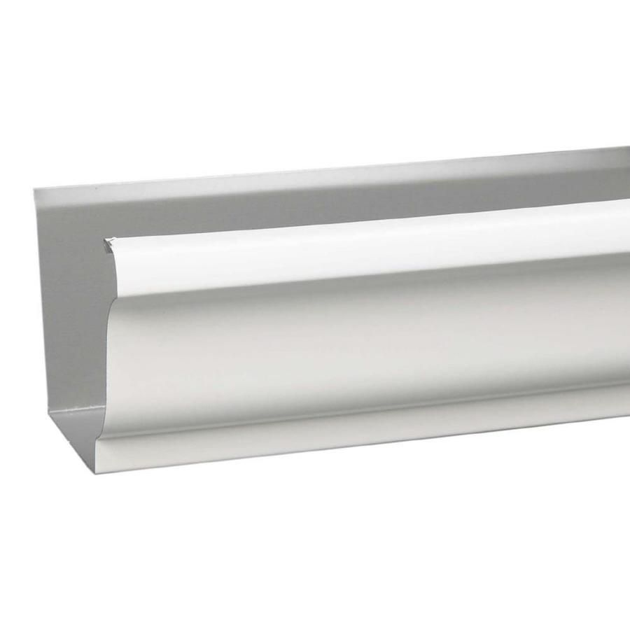 Amerimax Professional Grade 5 5 In X 120 In White K Style Gutter K10325 In 2020 Galvanized Gutters Home Depot Lowes Home Improvements