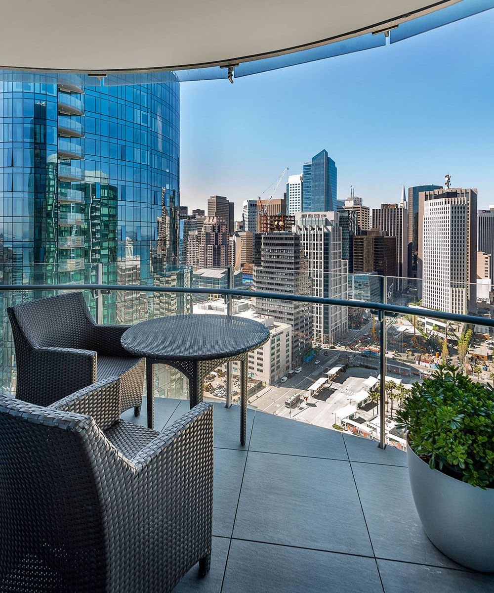 Enjoy Gorgeous City Views From Your Balcony In The Lumina