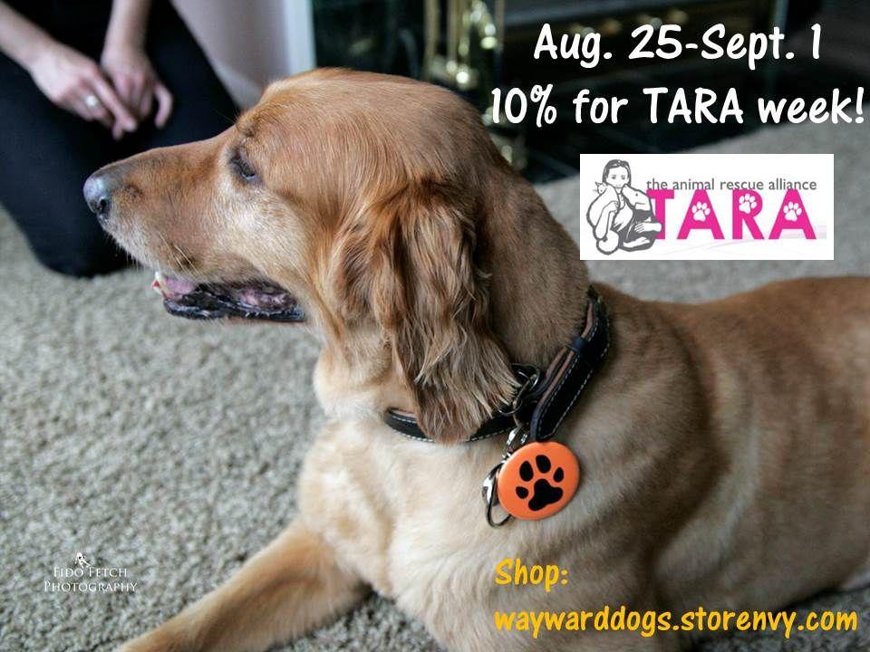 It's 10 for TARA week! Thru Sept. 1, 10 of Beer Paws