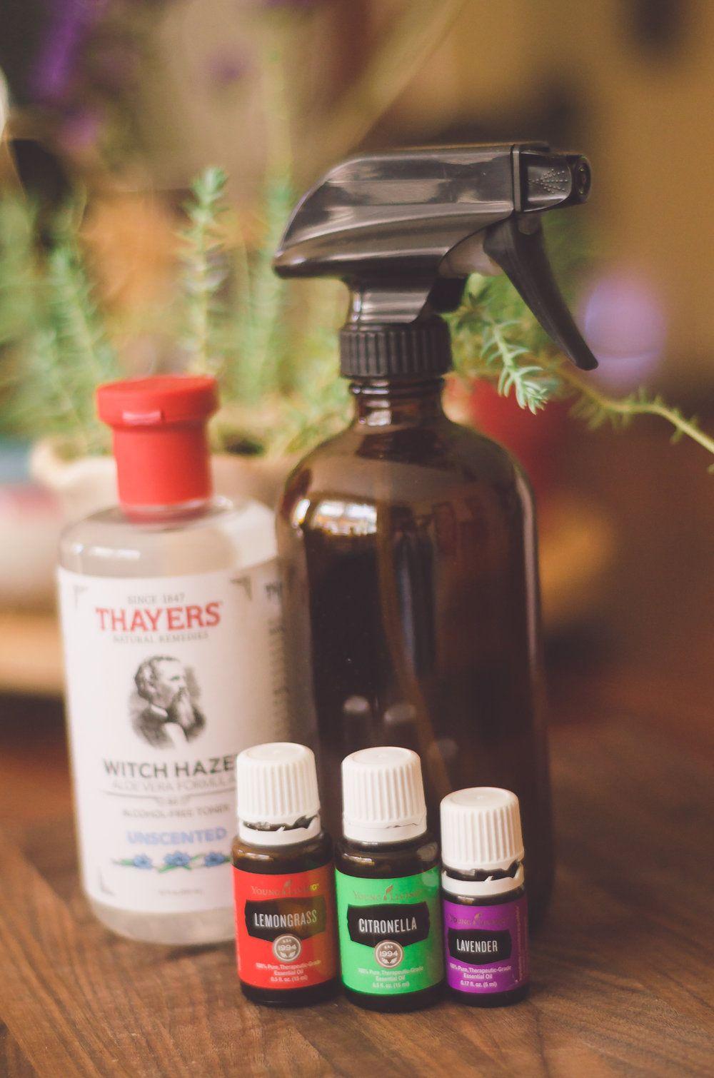 diy sanitizer spray young living