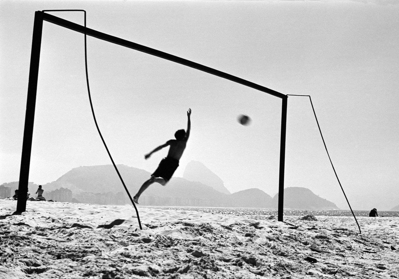 Homaz Farkas: Praia de Copacabana, Rio de Janeiro, 1947