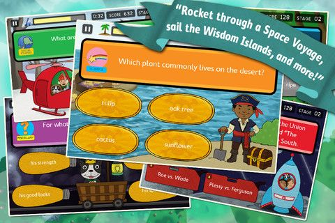 Brain Quest Questions On The Go App Education Kids Playing