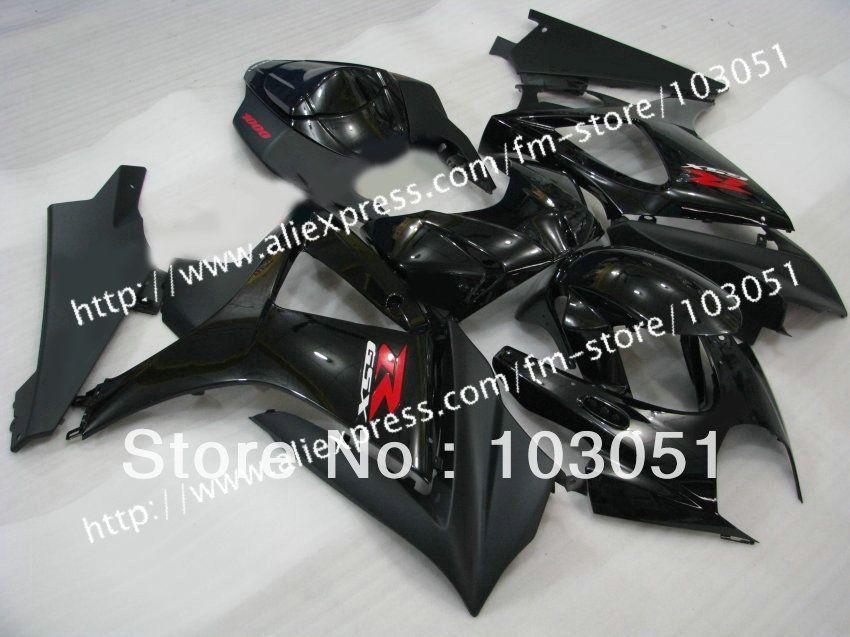 7 Gifts Body Kit For Suzuki Gsxr 1000 2007 Fairing Gsxr 1000 Fairings 2008 Fairing K7 07 08 Glossy And Flat Black Sy37 Suzuki Gsxr Body Kit Gsxr 1000