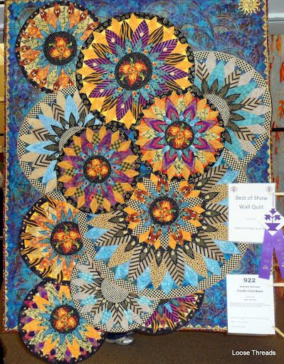 Beautiful quilt from a show in Indiana