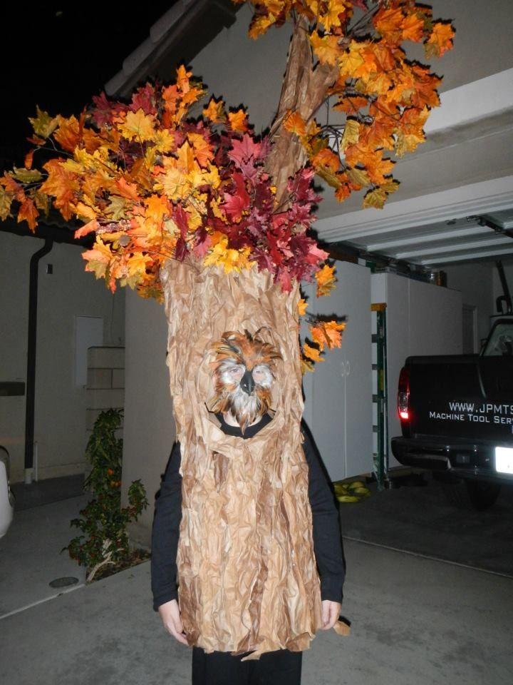 Homemade tree costume Tree costume, Christmas tree