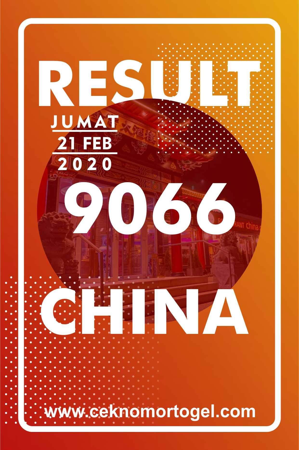 Data China Togel 2020 : china, togel, Result, China, Jumat, Februari, Pengikut