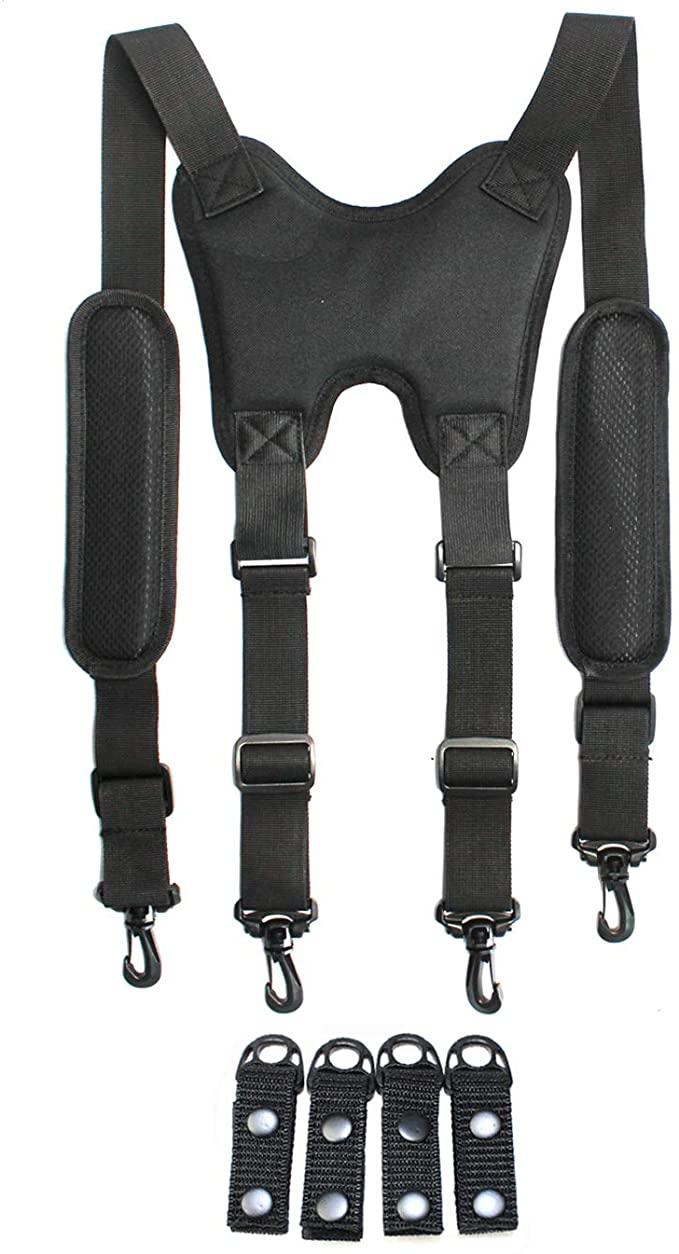 Melo Tough Police Duty Belt Suspenders Tactical Suspenders Harness Suspenders Round At Amazon Men S Clothing Store Police Duty Belt Battle Belt Suspenders