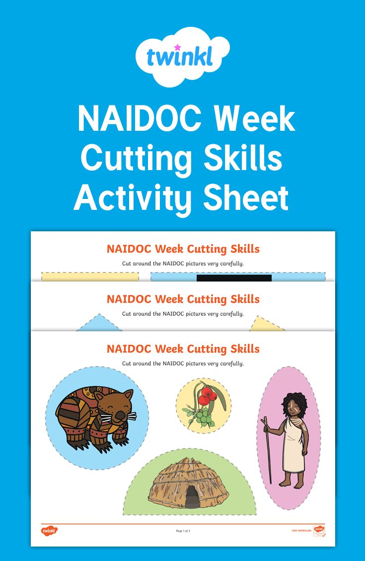 These cutting skills activity sheets are fantastic to use for craft ...