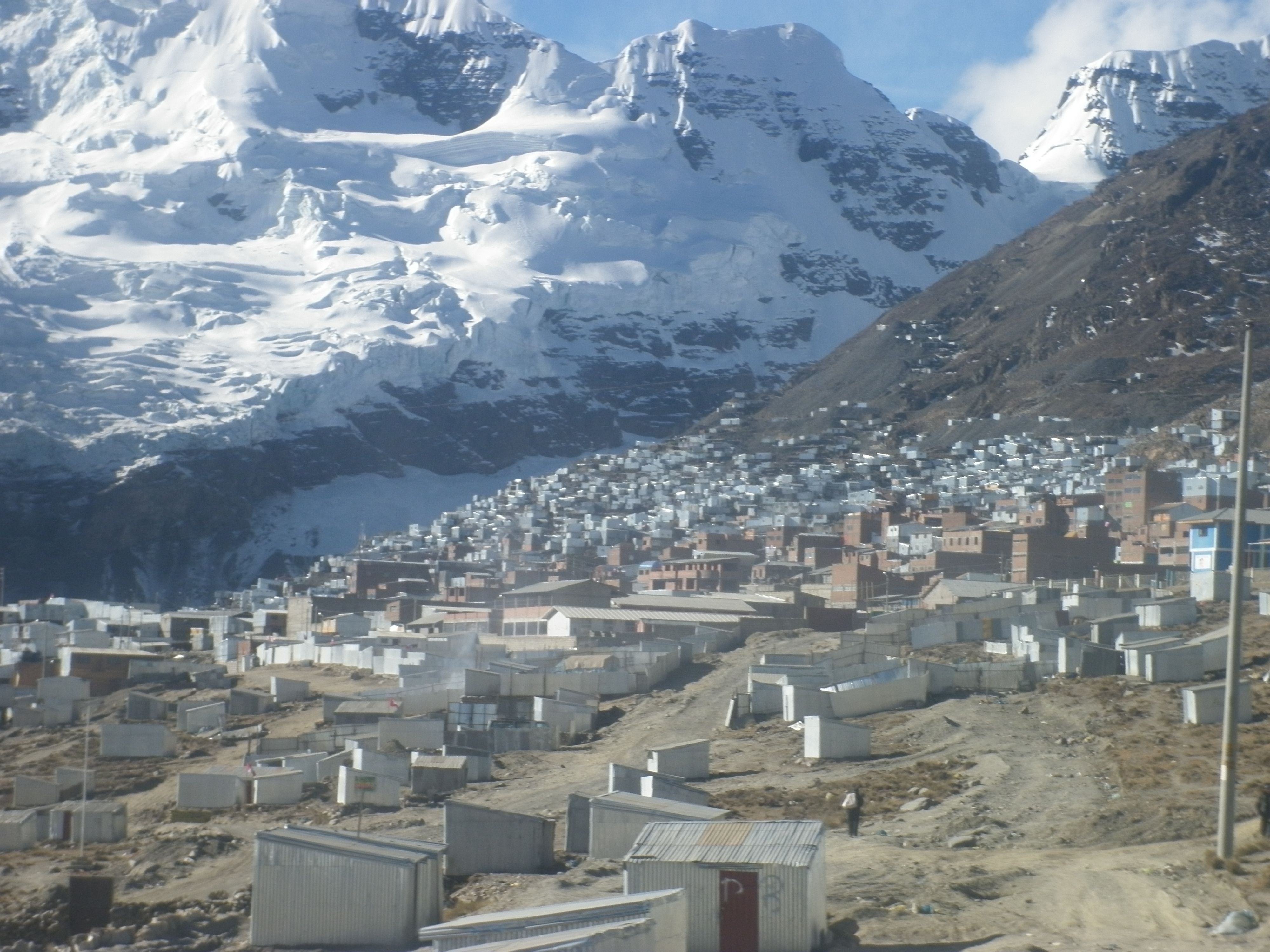 La Rinconada,  Peru. The Highest elevated town in the world at over 16,000 feet