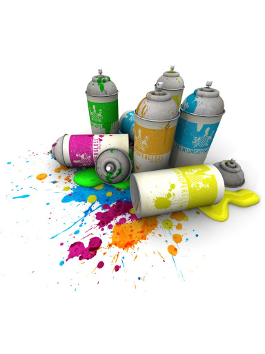 Spray Paint Graffiti Spray Can Paint Cans Sticker Art