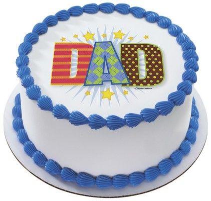 Dapper Dad Edible Image® Decoration