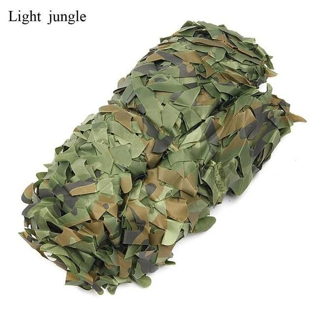 Hunting Camouflage Cover Sun Shelter Net Woodland Army Camo Camping Tent Shade
