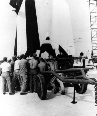 Bumper 7 Cape Canaveral Pad 3 1950