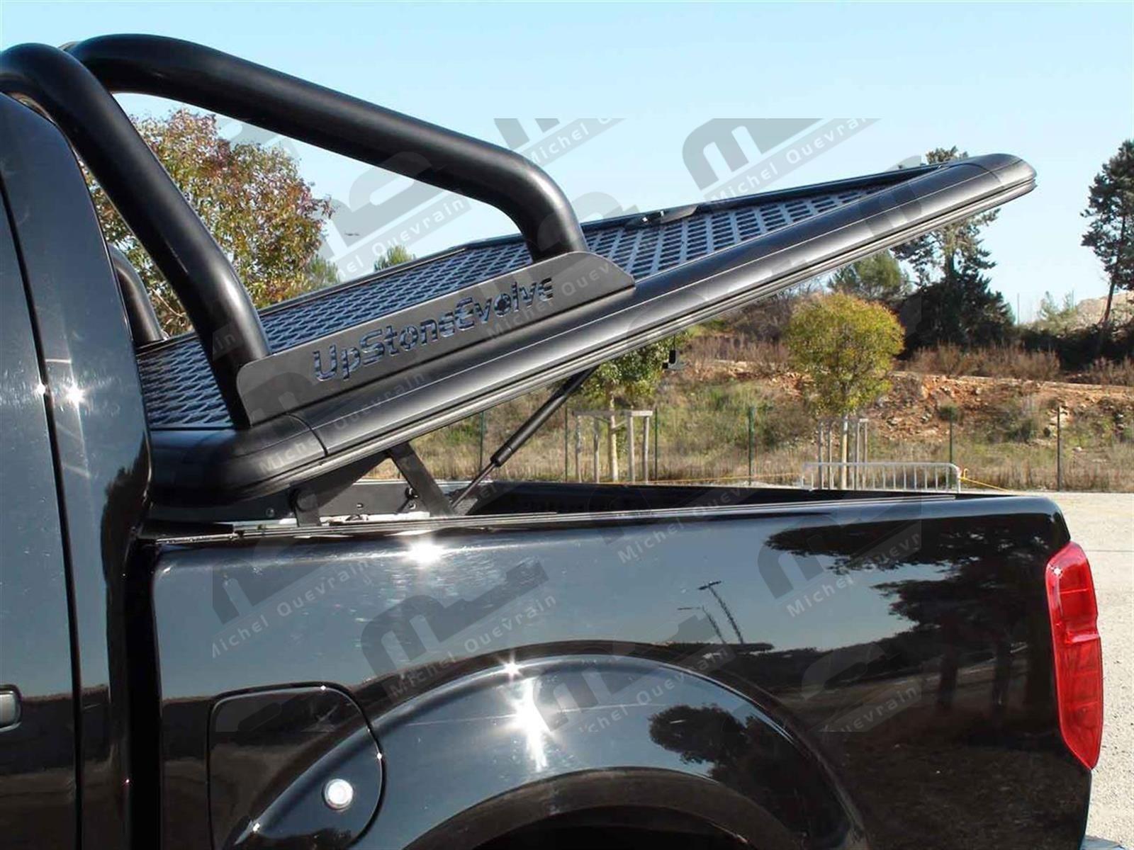 Black Roll Bar O 76mm Np300 2016 Ranger Upstone Tonneau Cover